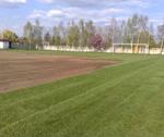 2011.04.16. Focipálya gyepszőnyeg felújítása képek