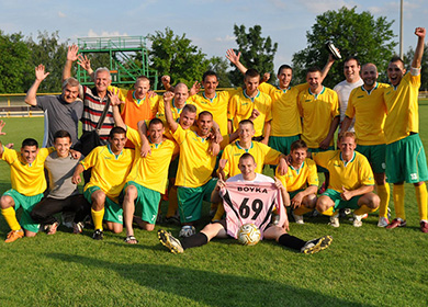 Bőcs KSC bajnokcsapat