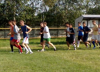 Bőcs KSC edzés 2010 július 12.
