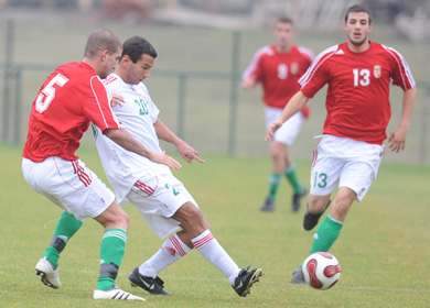 Keleti válogatott - Nyugati válogatott 1-3 (1-1)