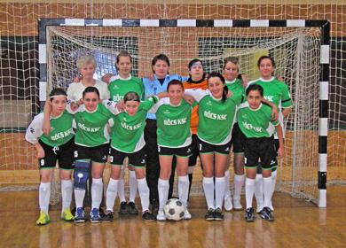 Női csapat Bőcs KSC