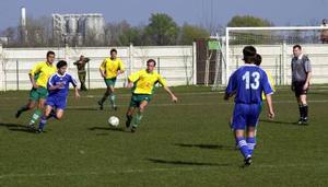 2002.03.30. Bőcs KSC - Mátészalka 0-3. képek fotó: Borsod Online