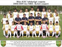 Bőcs KSC 2008/2009 ősz