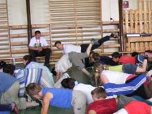 A Bőcs Sport kft. is részt vett a Kihívás Napján.